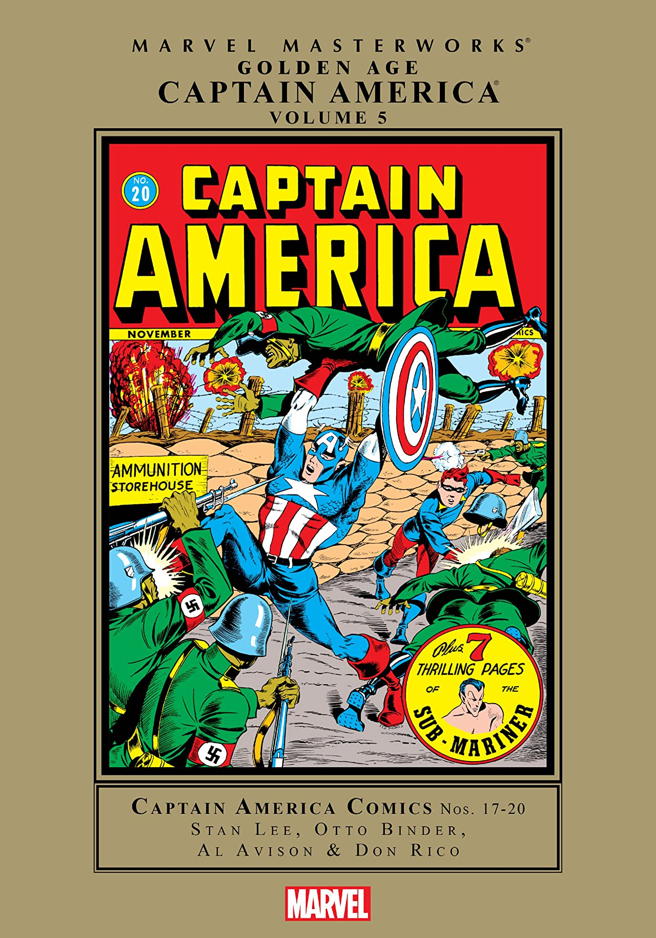 Captain America Golden Age Masterworks Vol. 5