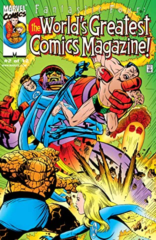 Fantastic Four: The World's Greatest Comics Magazine (2001-2002) #2