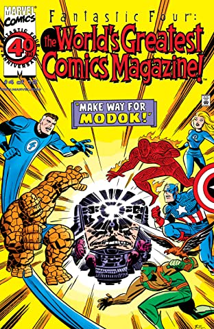Fantastic Four: The World's Greatest Comics Magazine (2001-2002) #4
