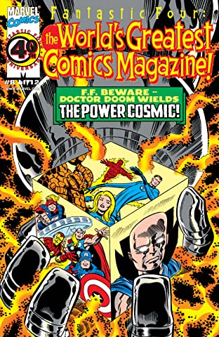 Fantastic Four: The World's Greatest Comics Magazine (2001-2002) #8