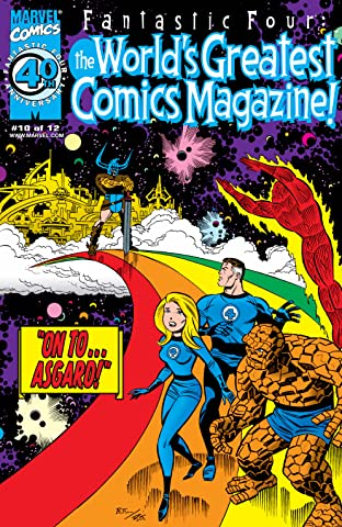 Fantastic Four: The World's Greatest Comics Magazine (2001-2002) #10