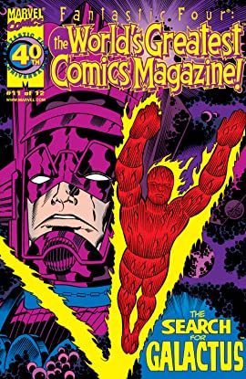 Fantastic Four: The World's Greatest Comics Magazine (2001-2002) #11