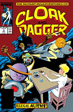 Mutant Misadventures of Cloak and Dagger (1988-1991) #2