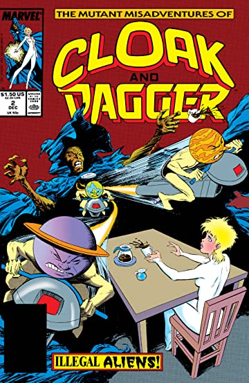 The Mutant Misadventures of Cloak and Dagger (1988-1991) #2