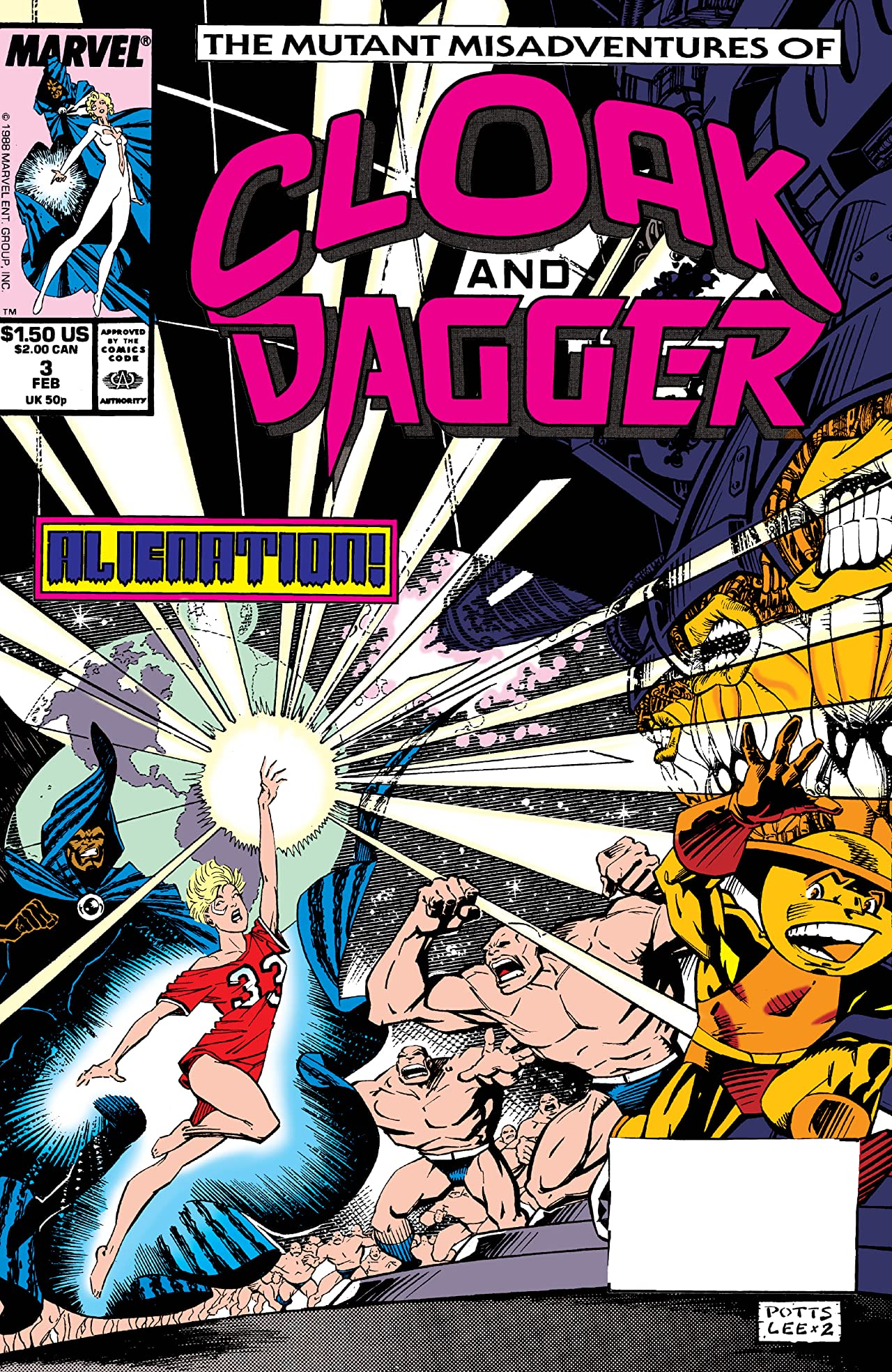 The Mutant Misadventures of Cloak and Dagger (1988-1991) #3
