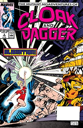 Mutant Misadventures of Cloak and Dagger (1988-1991) #3
