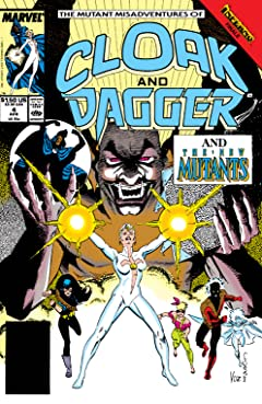 Mutant Misadventures of Cloak and Dagger (1988-1991) #4