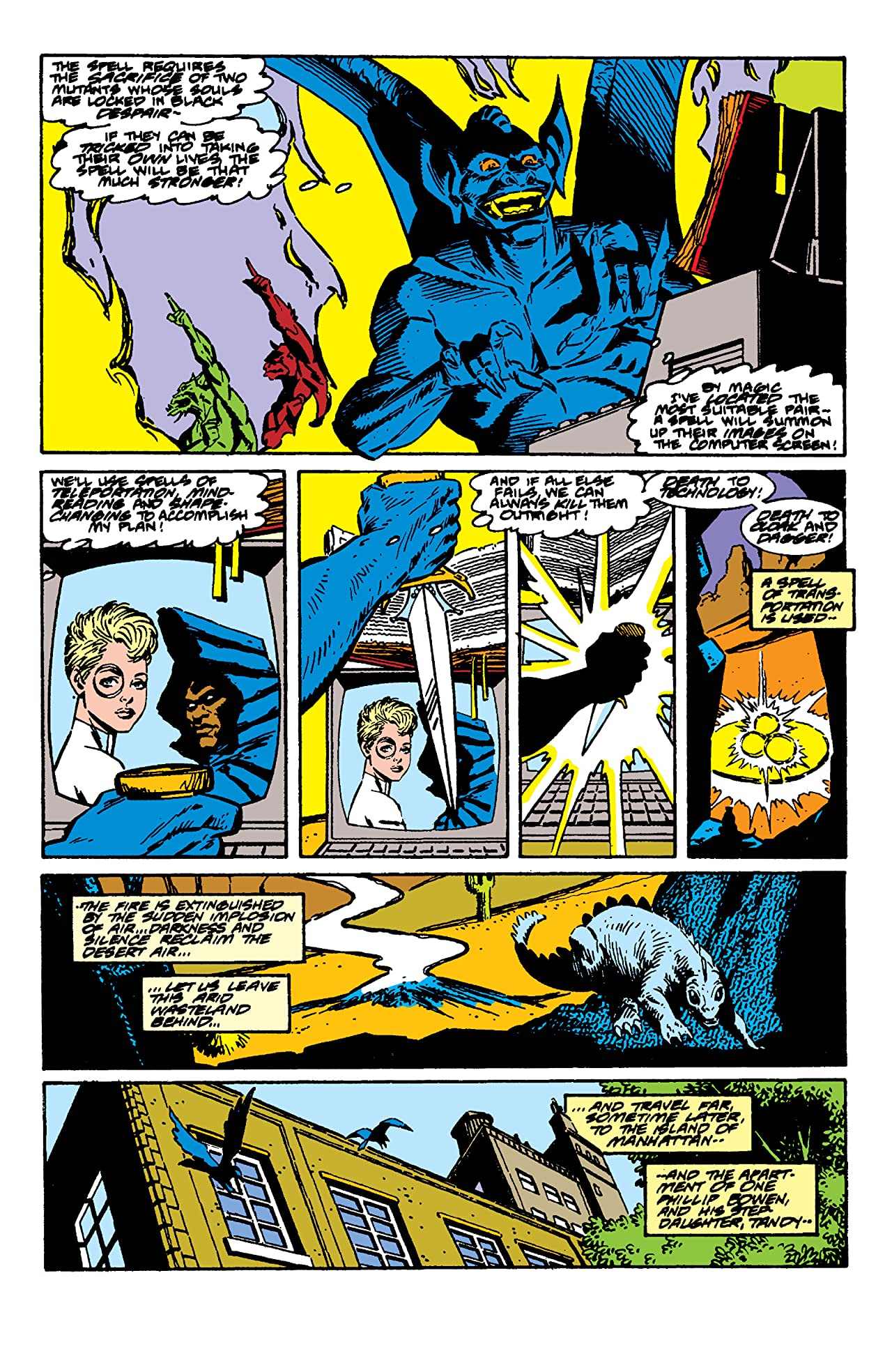 The Mutant Misadventures of Cloak and Dagger (1988-1991) #4