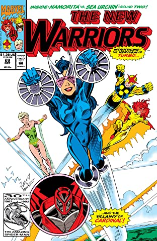 New Warriors (1990-1996) #28