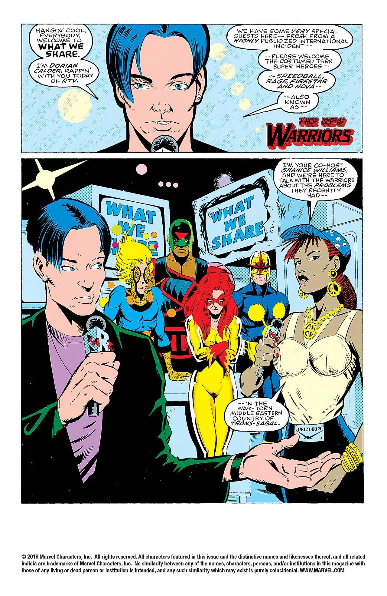 New Warriors (1990-1996) #29