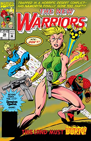 New Warriors (1990-1996) #30