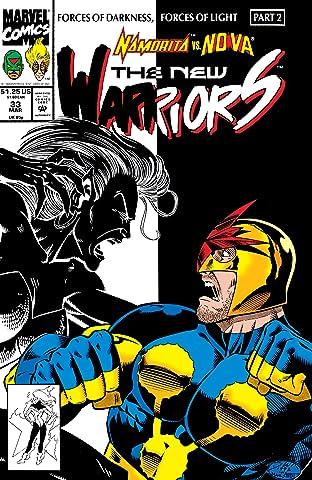 New Warriors (1990-1996) #33
