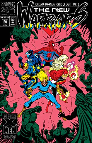New Warriors (1990-1996) #34
