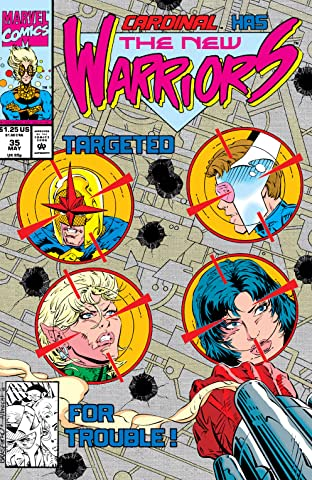 New Warriors (1990-1996) #35