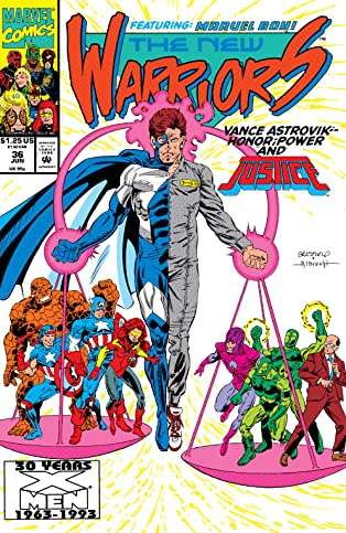New Warriors (1990-1996) #36