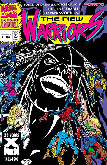New Warriors (1990-1996) Annual #3