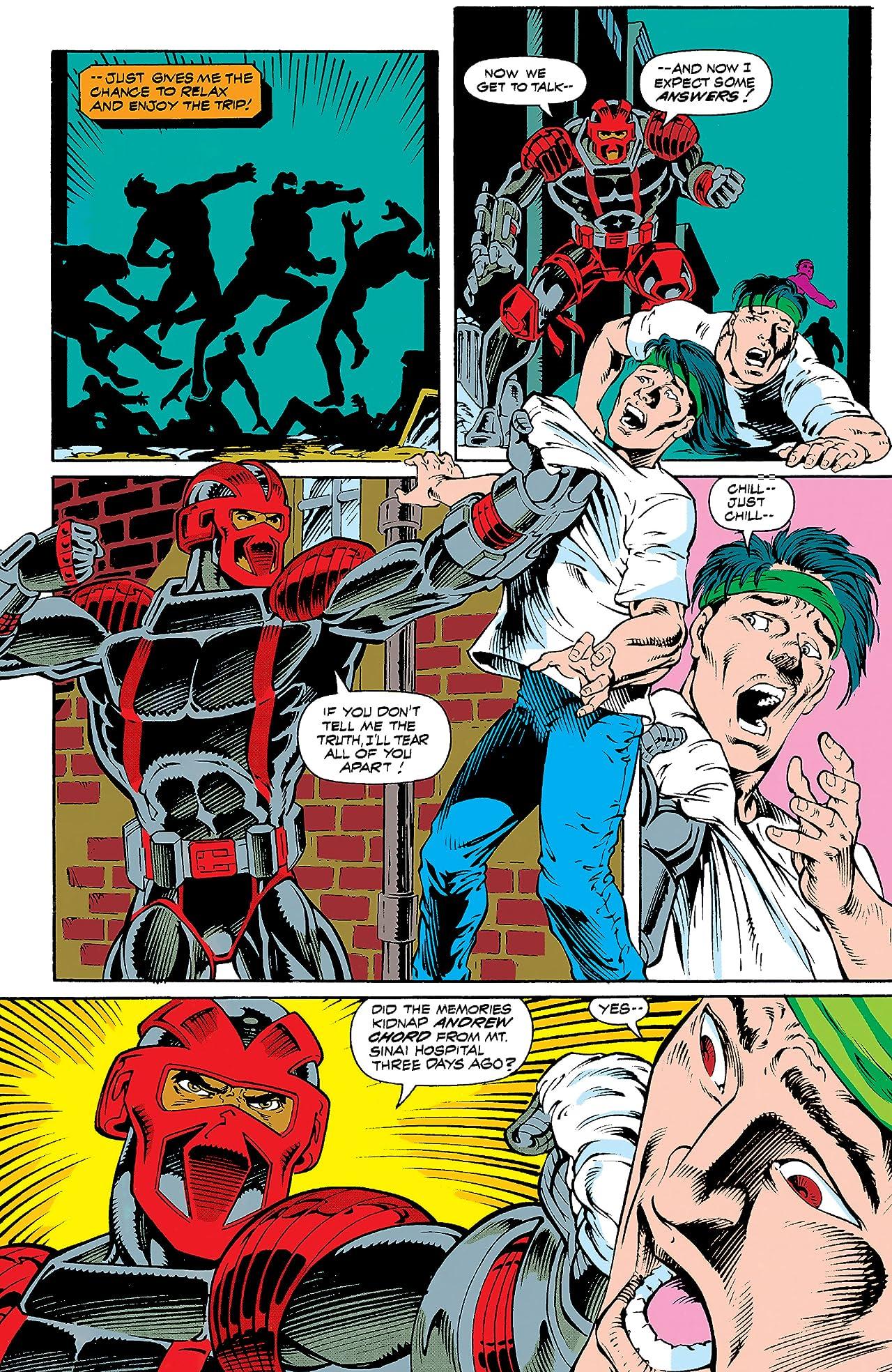 Night Thrasher: Four Control (1992-1993) #4