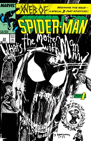 Web of Spider-Man (1985-1995) No.33