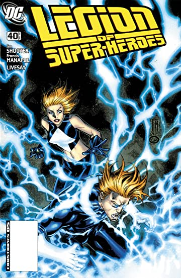 Legion of Super-Heroes (2005-2009) #40