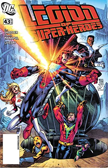 Legion of Super-Heroes (2005-2009) #43