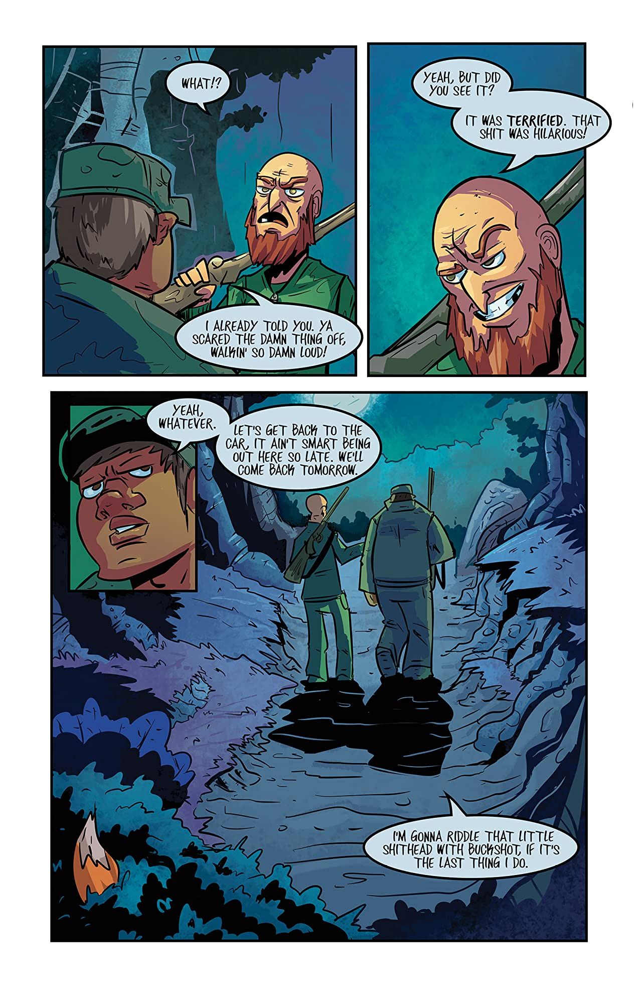 Franklin and Ghost #1
