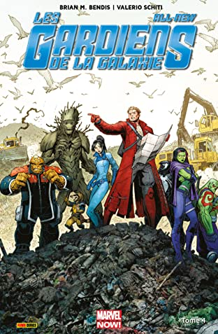 All-New Les Gardiens de La Galaxie Tome 4: Cloués au sol
