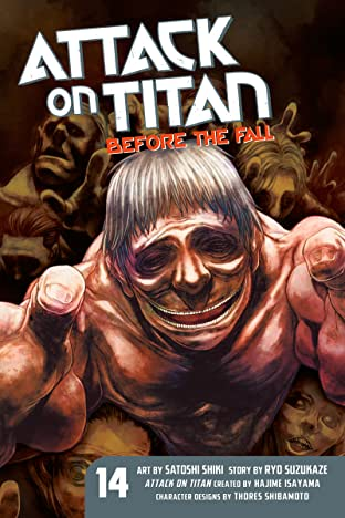 Attack on Titan: Before the Fall Tome 14