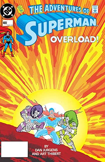 Adventures of Superman (1986-2006) #469