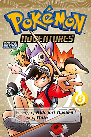 Pokémon Adventures (Gold and Silver) Tome 8