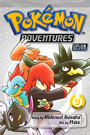 Pokémon Adventures (Gold and Silver) Tome 9