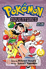 Pokémon Adventures (Gold and Silver) Vol. 10