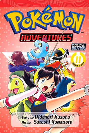 Pokémon Adventures (Gold and Silver) Vol. 11