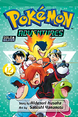 Pokémon Adventures (Gold and Silver) Tome 12