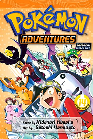 Pokémon Adventures (Gold and Silver) Vol. 14