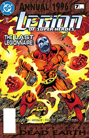 Legion of Super-Heroes (1989-2000) Annual #7