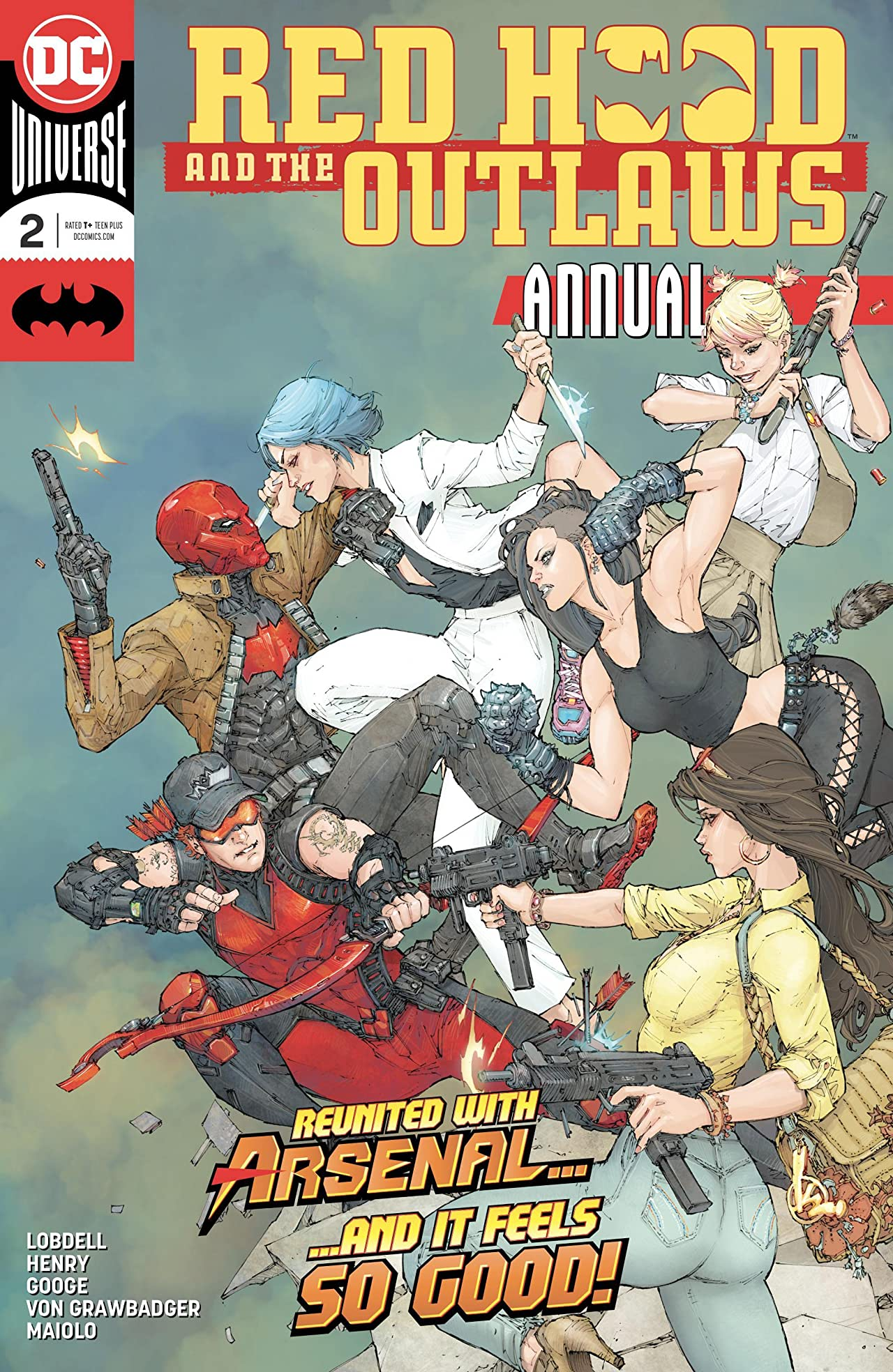 Red Hood and the Outlaws (2016-) Annual #2