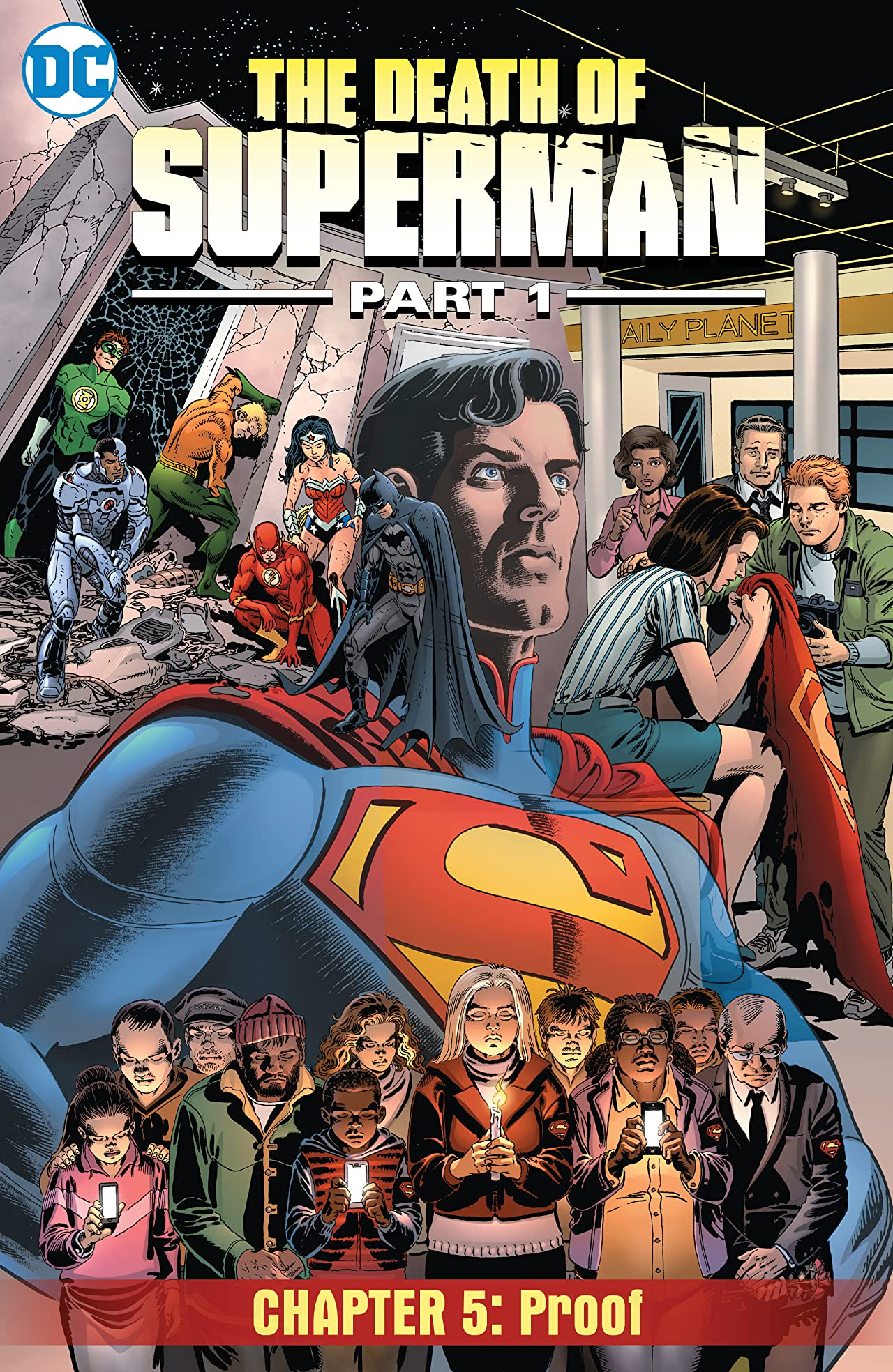 Death of Superman, Part 1 (2018) #5