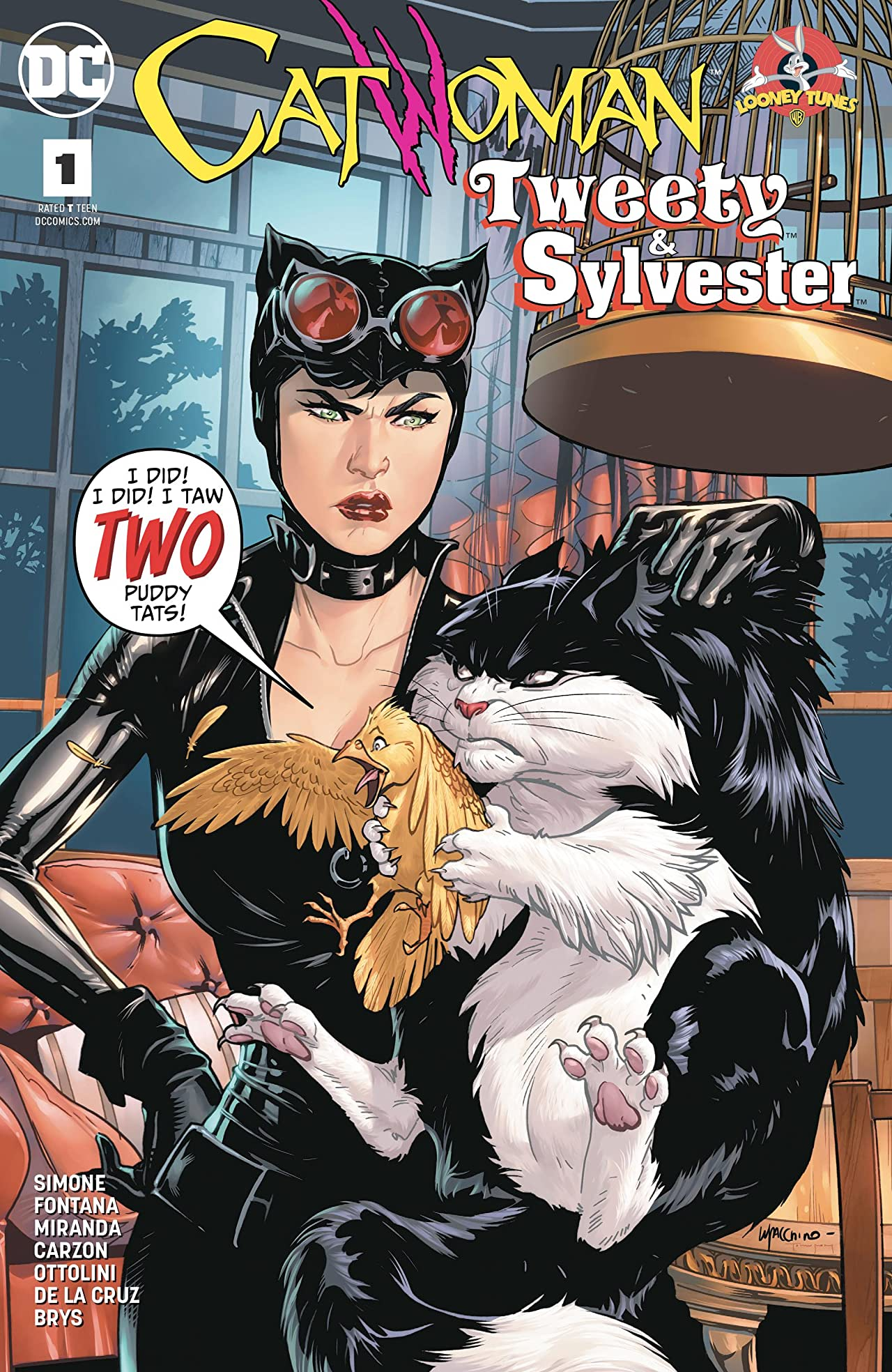 Catwoman/Tweety and Sylvester (2018) #1
