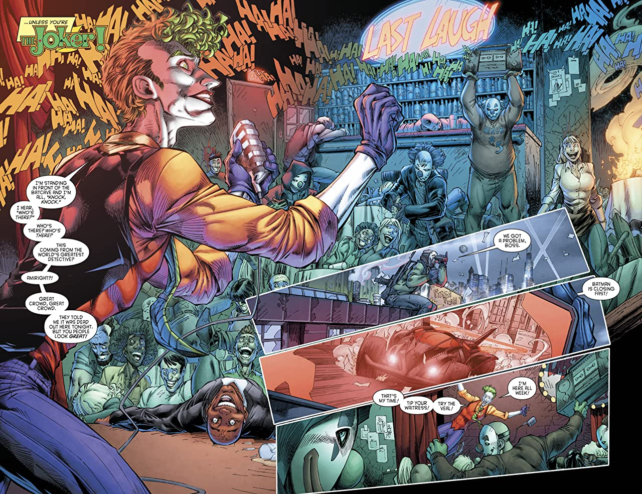 The Joker/Daffy Duck (2018) #1