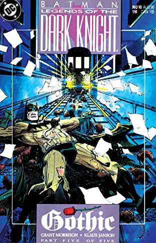 Batman: Legends of the Dark Knight No.10