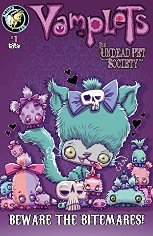 Vamplets The Undead Pet Society: Beware the Bitmares!  #1