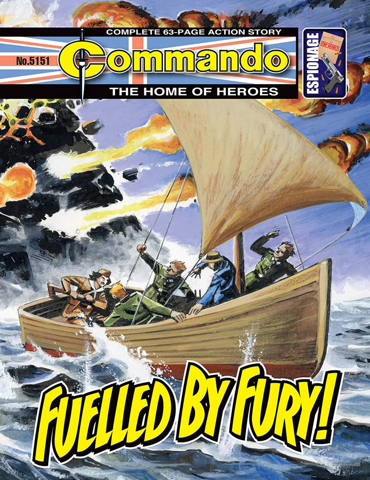 Commando #5151: Fuelled By Fury