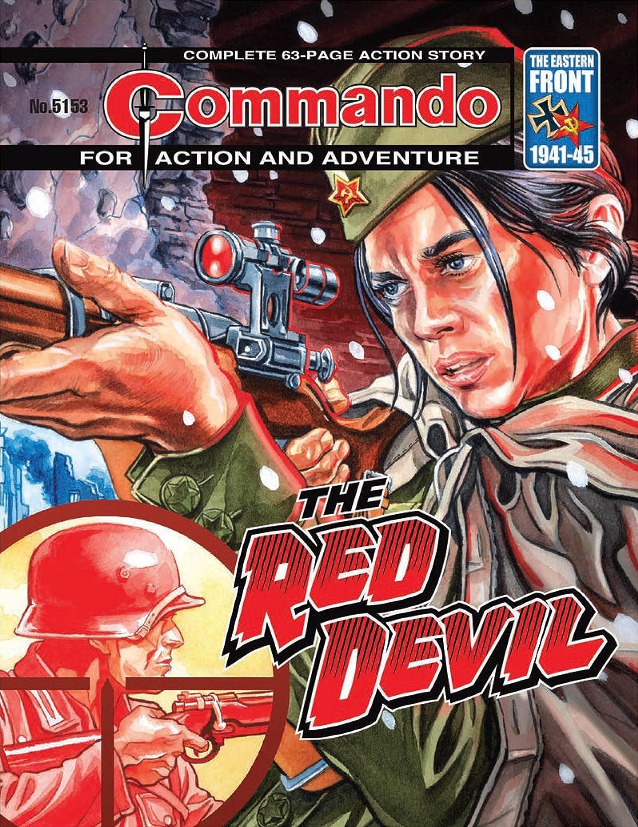 Commando #5153: The Red Devil