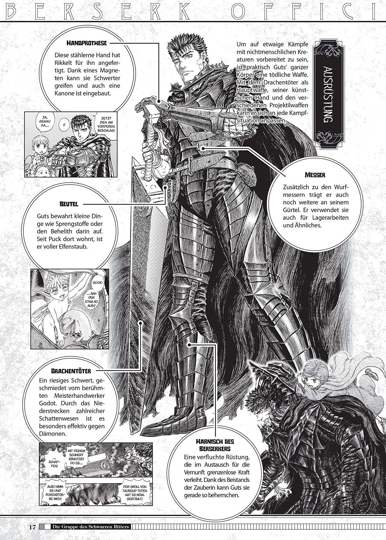 Berserk Official Guide Book - Das offizielle Kompendium Vol. 1