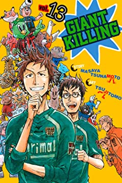 Giant Killing Tome 13