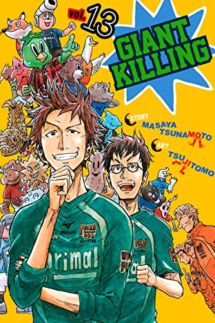 Giant Killing Vol. 13