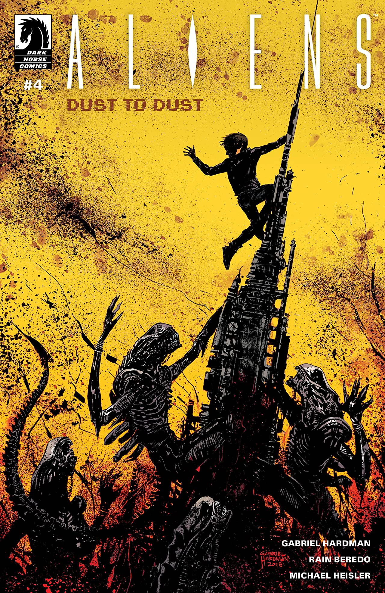 Aliens: Dust to Dust No.4