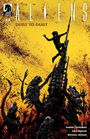 Aliens: Dust to Dust #4