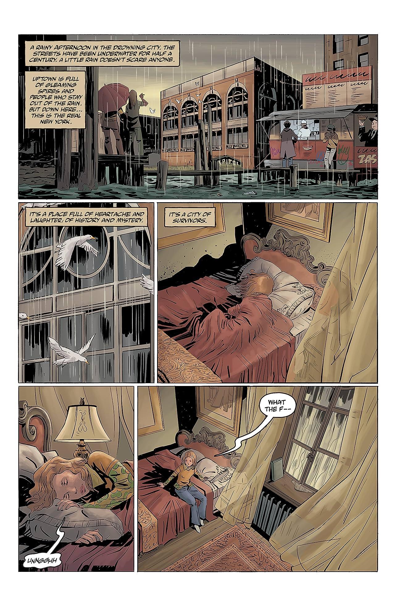 Joe Golem: Occult Detective--The Drowning City No.2