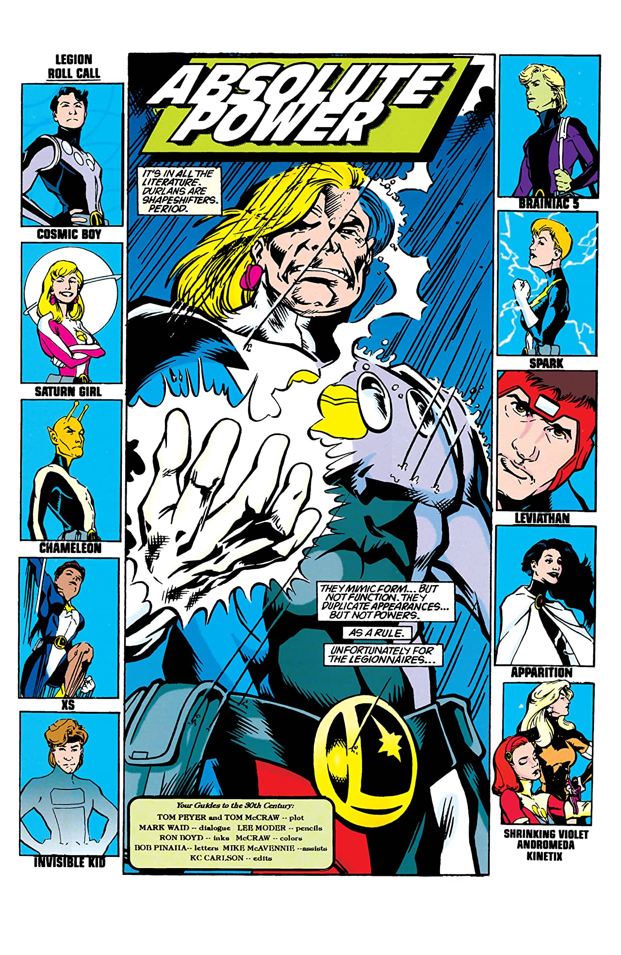 Legion of Super-Heroes (1989-2000) #69